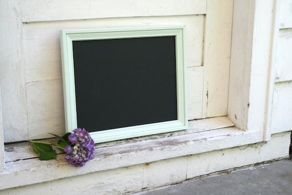 Peppermint Patty Bevelled Edge Framed Chalkboard