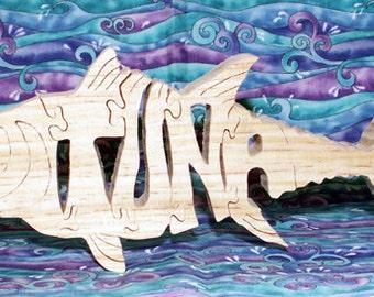 Tuna Wood Fretwork JIgsaw Puzzle