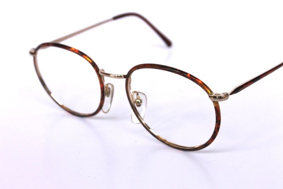 Speckle Tacular 90s Round Tortoise Shell Glasses Frames