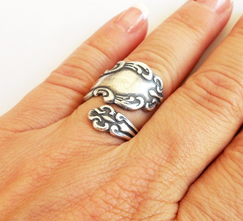 Etsy Com Spoon Rings