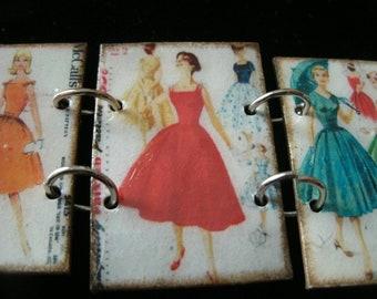 vintage sewing pattern bracelet