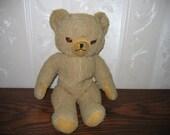 Vintage Knickerbocker Teddy Bear Plush Stuffed Animal Toy