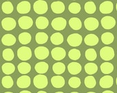 Love Sunspots in Olive Green AB46 by Amy Butler Quilt Fabric- 1/2 Yd BTY