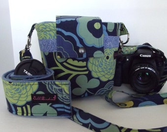 Dollbirdies Large SLR/DSLR Camera Bag with Strap Sleeve with Pocket Ready to Ship