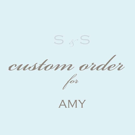 RESERVED for AMY- Custom Guest Tags