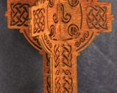 3D Standing Celtic Cross