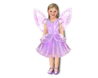 Fairy costume. Single outfit for magnetic dolls.