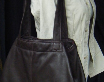 MADE TO ORDER   Neue Tote dark brown leather