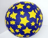 BALLOON BUDDIES, Wizard, balloon ball, stars, yellow, purple, balloon cover, balloon, ball, toy, magic, boy, etsykids team