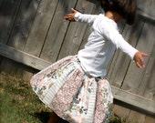 Twirl Skirt - Pastel Quilt Last One Size 6/7