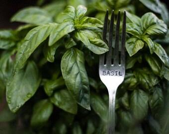 Vintage Silverware Garden Marker Fork One