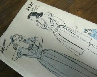 Vintage 1940's Dress Pattern