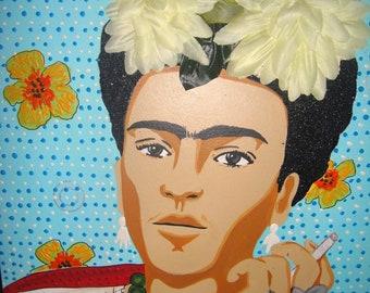 Frida Kahlo Retablo Painting