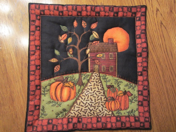 Fall Night Wall Hanging