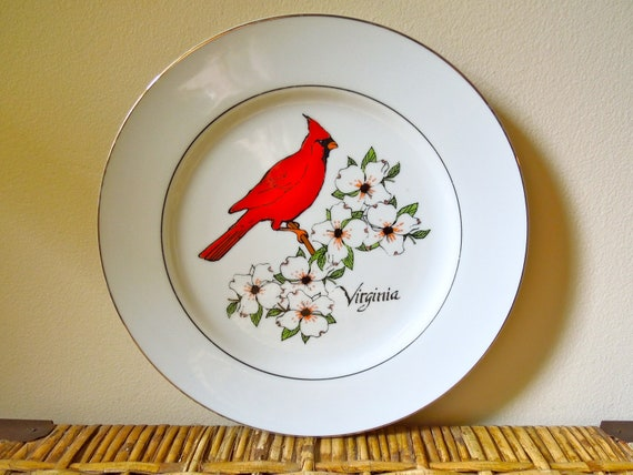 vintage collectible virginia state plate