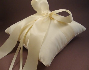 Gabriella Ring Bearer Pillow  - Choose Your Own Colors.