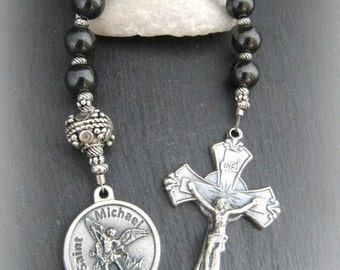 St. Michael Catholic Gemstone Chaplet