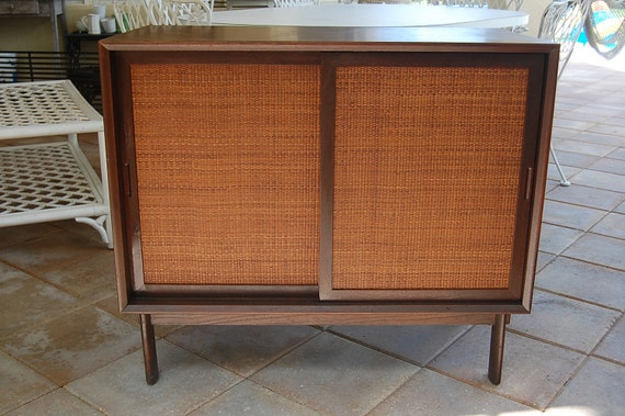 Reserved for Kay...Mid Century Modern Cabinet Console at Retro Daisy Girl