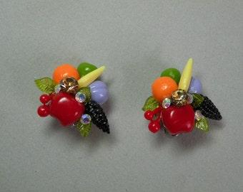 Mixed Fruit Earrings