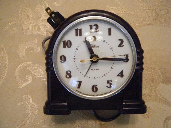 Telechron alarm clock - Warden