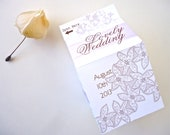 Lace Wedding Milkcarton. 25 Flower Lace Favor Boxes. Elegant MIlkcarton. Wedding Decor. Milkcarton Lace Collection 2013. Custom Wedding Box.