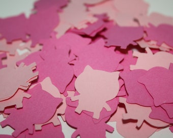 Piggy Die Cut Confetti Table Decor 200 pieces