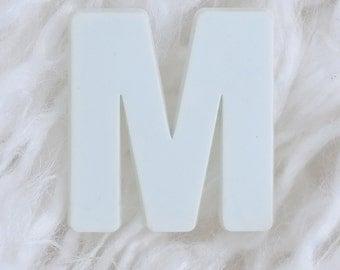 Letter M - Alphabet Art, Alphabet Letters Photography, Alphabet Photos, Letter Art, White Letter, Neutral Home Decor, Letter M 4x6 Photo,