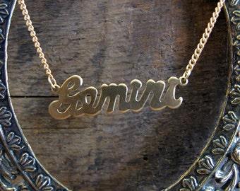 Gemini Astrological Sign Necklace