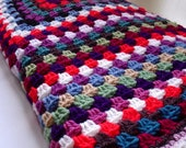 Crochet Granny Square Blanket -Gypsy Wagon - The Ever Increasing Squares