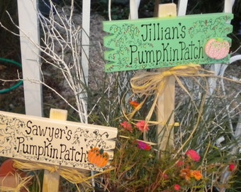 Smyardsign 443 - Set Two Pumpkin Patch Signs