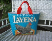 Chicken Feed Bag Tote