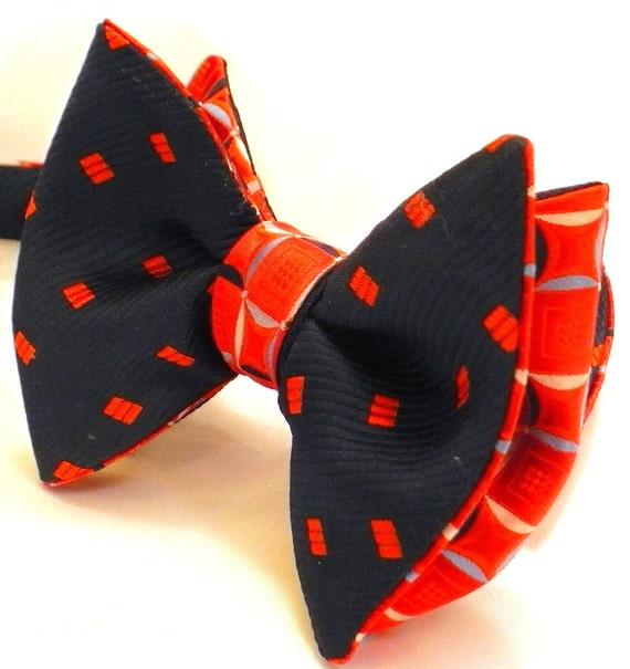 Custom Uncommon Reversible BUTTERFLY Bow Tie