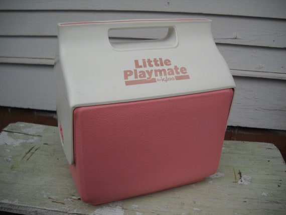 Vintage little playmate igloo cooler side button by - Igloo vintage ...