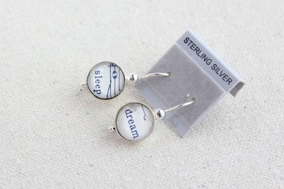 CLEARANCE seconds sale sterling sheet music earrings