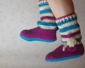 Womens Slippers PDF Pattern for Boots