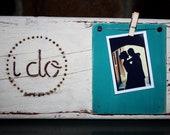 Distressed Wedding Photo Frame