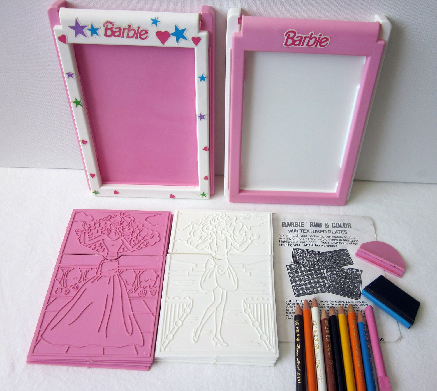 Barbie Fashion Plates Rubbing Barbie Fashion Plates zoom