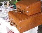 Vintage Samsonite 1950's Suitcase Retro Wedding Decor