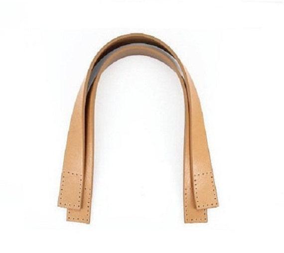 "16"" x 1"", Tan, Leather Strap Handle"