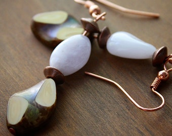 Creative Glass Earrings