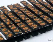 Set of 10 Little Pumpkin Decoupage Clothespins ID 11723