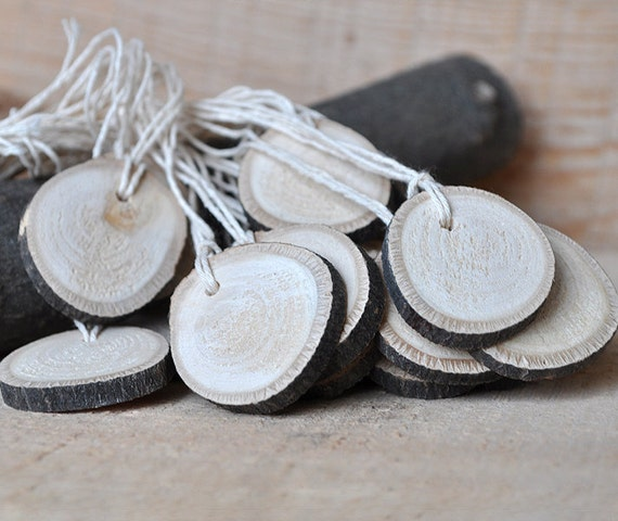 20 Wood Tags ... Natural Linden Wood Gift Tags ... Lovely for gift, for wedding ...