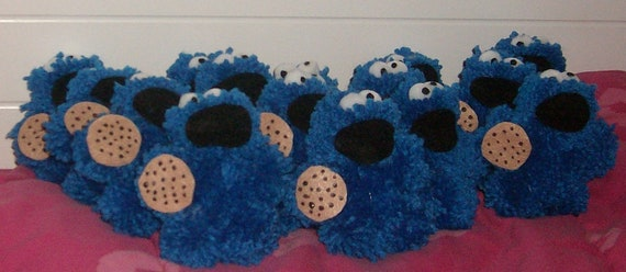 15 Mini Cookie Monsters for Sonia Martinez