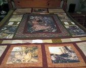 Queen Size Quilt Alice in Wonderland down payment for Ian do not order if you are not him