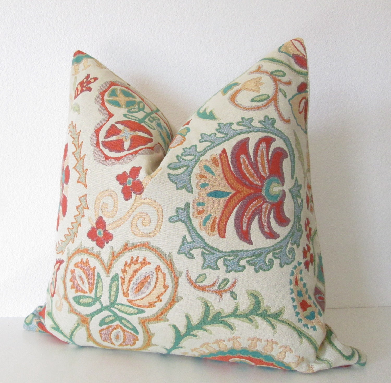 Cream Decorative Pillow Covers : CraftLaunch Site Inactive