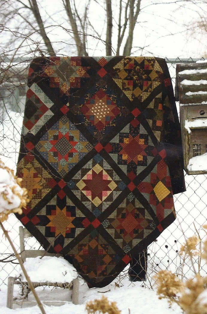 primitive folk art quilt pattern best of all by
