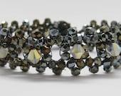FINAL CLEARANCE Bronze Iris Mirrored Triangles Bracelet