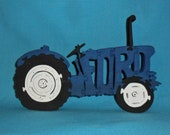 Ford Tractor Scroll Saw Wooden Puzzle
