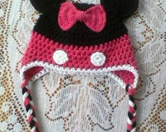 Adult size Minnie Mouse Hat