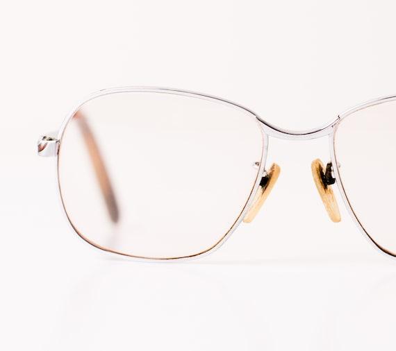 Vintage Glasses, Metal Frame w/Slightly Tinted Big Lenses